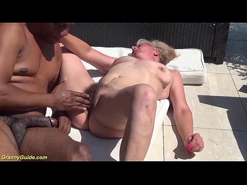 hairy 72 years old granny first time brutal interracial banged