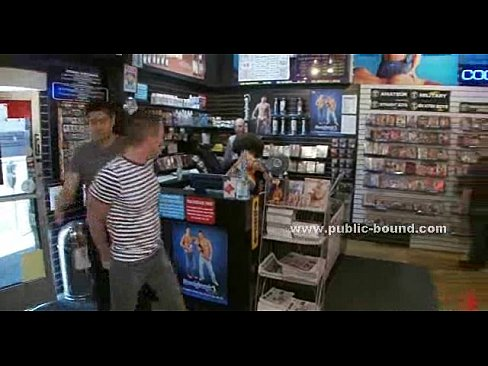Gay sex in store