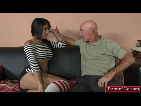 Tight busty shemale Jane Marie asshole rammed