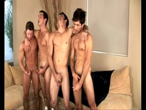 Gay Twinks Circle Jerk