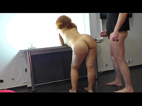 Mature mom without panties made a blowjob and gave anal to her stepson