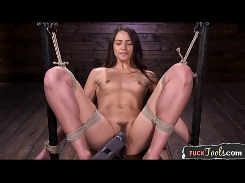 Dildo sucking sub fucked by sex machine