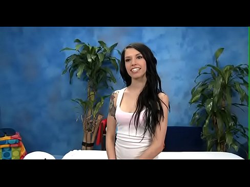 Engaging brunette young Callie Cyprus cums on camera