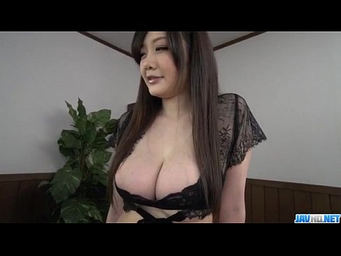 XVIDEO Rie Tachikawa big tits Japanese enjoys a good cock