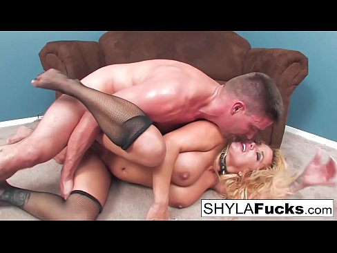 Busty Shyla's Hard Anal Fuck and a Facial