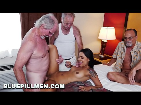 Clip sex BLUE PILL MEN - Three Old Men And A Latin Lady Named Nikki Kay