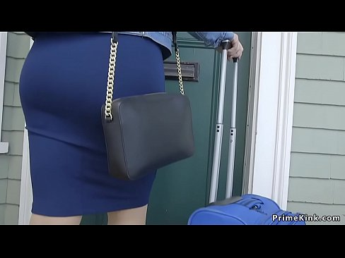 Husband anal bangs his wife slave and her big tits step sister in threesome bdsm