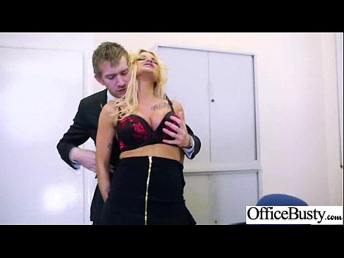 Office Sex Tape With Naughty Lovely Bigtits Girl Movie-10