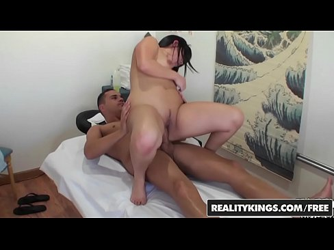 RealityKings - Happy Tugs - Asian masseuse jerking and sucking client - Well Done's Thumb