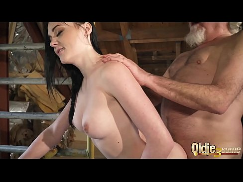 Old man hot cock
