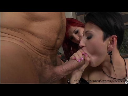 Suave stud Rocco bangs exhausting his slutty sizzling women on the sofa