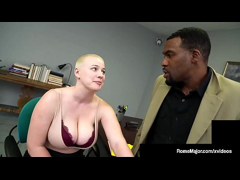 Buzz Cut Beauty Riley Nixon wastes no time sucking her boss off, Rome Major, who stuffs his big black cock inside this shaved headed sex fiend! Hot Damn! Full Video & More Chicks @ RomeMajor.com!