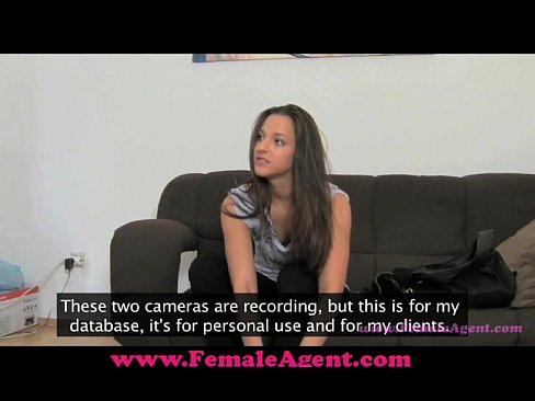FemaleAgent Pleasuring an agent.