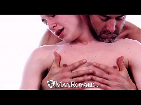 ManRoyale - Rub down turns into oiled up massage fuck