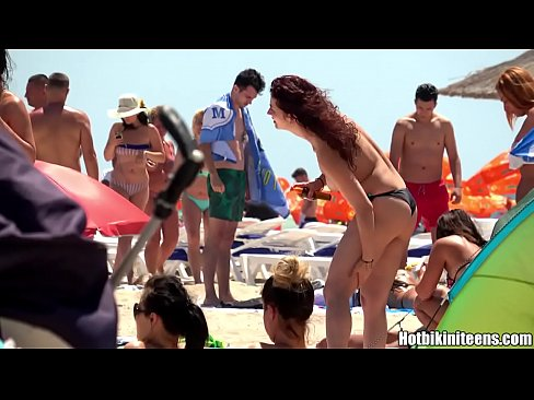 Sexy Topless Bikini teens beach Voyeur Spy HD Cam Video – more at GirlsDateZone.