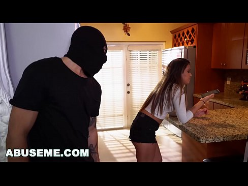 ABUSE ME - Bruno Dickemz Breaks And Enters Into Nicole Rey's Pussy