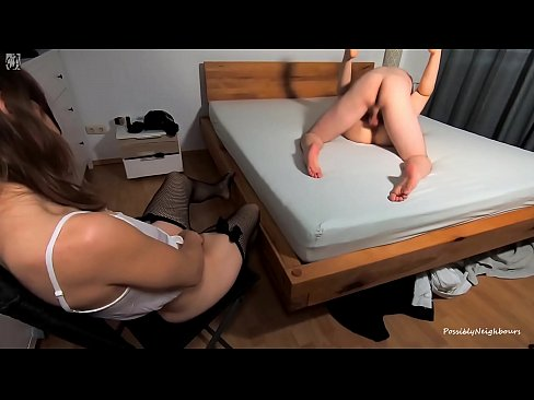 Husband Fucks Her Hot Sister - Wife Makes Herself Cum
