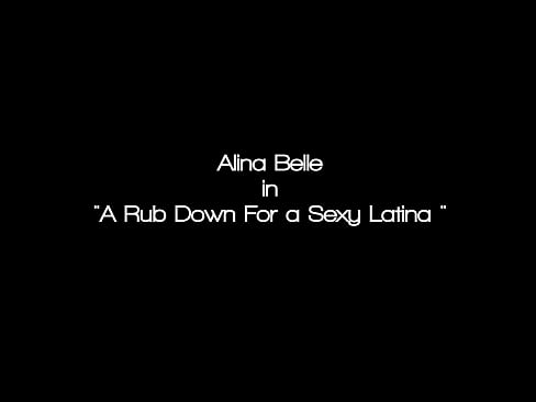 Sexy Latina Alina Belle Gets Deep Tissue Sexual Massage