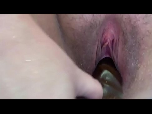 White phat pussy fucks herself with a huge black cock in the shower