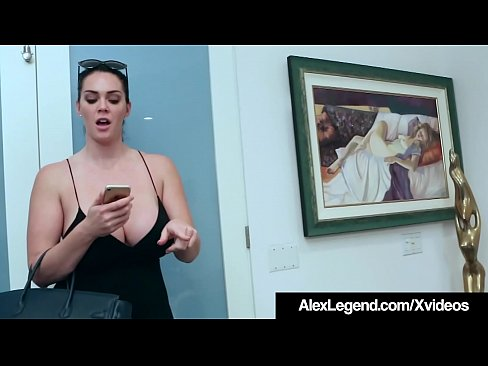 Curvy Brunette Alison Tyler drops her nerdy online date to fuck Fat Cock Frenchie Alex Legend, who bangs her shaved wet pussy in all sorts of positions & watches her big tits bounce as he pounds her over & over until he jets his jizz on her huge b