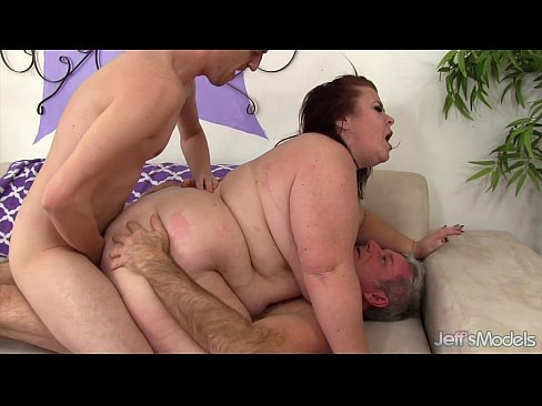 Fat lady double penetration
