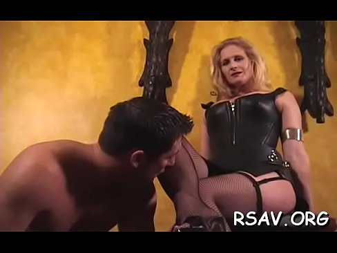 Candid slave squirting of pleasure in domination
