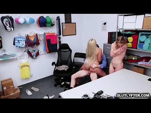 Yummy hot milf bounces her milf pussy on top of the LP Officers throbbing man meat!