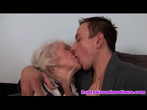 Jizzed Grandmas and hairypussy slammed