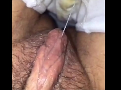 Wet pussy in a dirty pantie