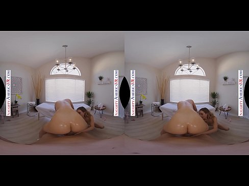 Naughty America massage parlor with hot blondes Aiden Ashley & Tiffany Watson