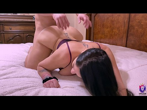 Big ass milf is fucked in the ass by her husband's boss
