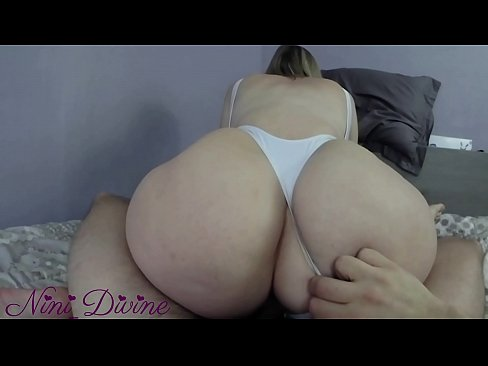 A milf in a sexy swimsuit gets her big ass fucked!