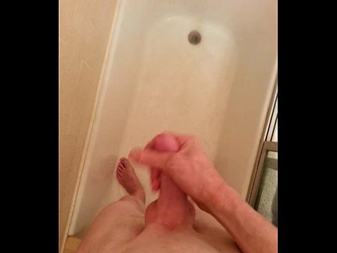 A meeting of cock in the shower