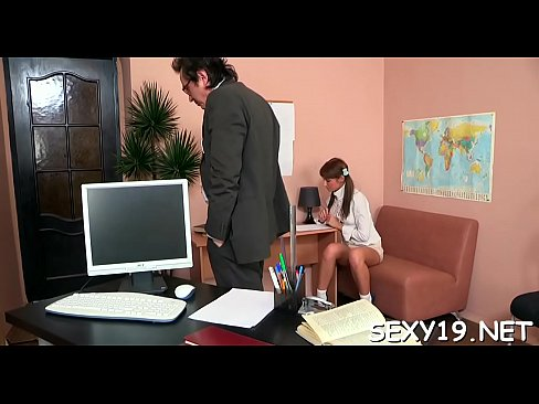 Teacher is offering gal hardcore lesson in wild loving's Thumb