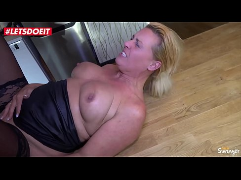 German Cougar Mom fucks Young s&period