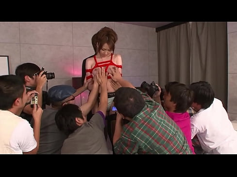 Clip sex Japanese cutie gets a nuru massage with different vibrators before hard fucking by several men, full uncensored JAV movie