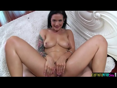 Inked MILF pov banged on all fours