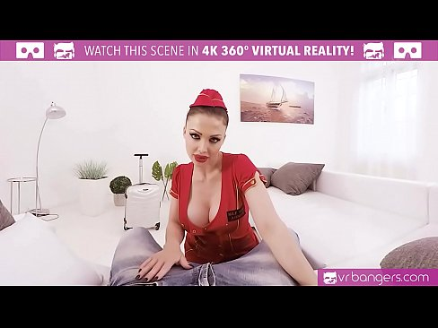 VRBangers.com Busty Aletta Ocean Get Banged And Titty Fuck With A Sexy Costume!