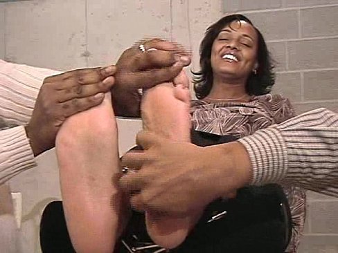 Candid Ebony Feet Church
