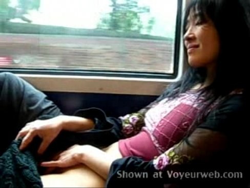 Netherlands train masturbation