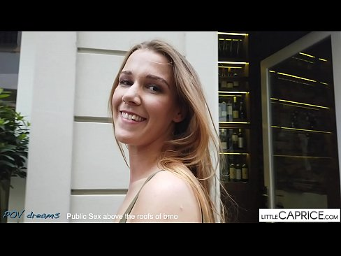 Clip sex PUBLIC SEX ON THE ROOF FROM BRNO - littlecaprice.com