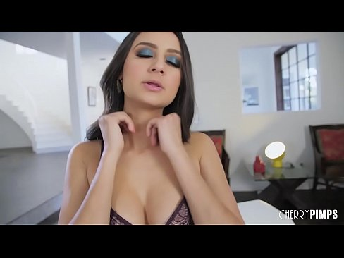 Lovely Latina Solo Teases Her Big Natural Tits Before Fingering Herself