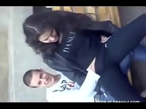 Rubbing Dick Girl Public