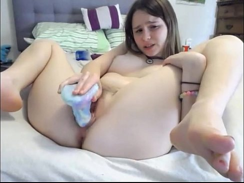 Dildo fucking hard teen agree, remarkable