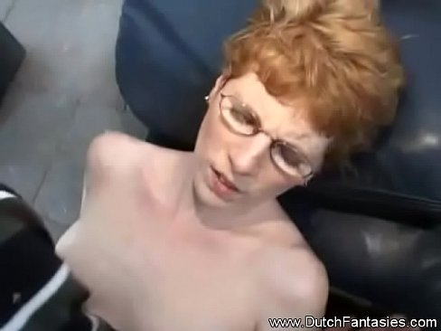 Short Hair Redhead With Glasses Fuck