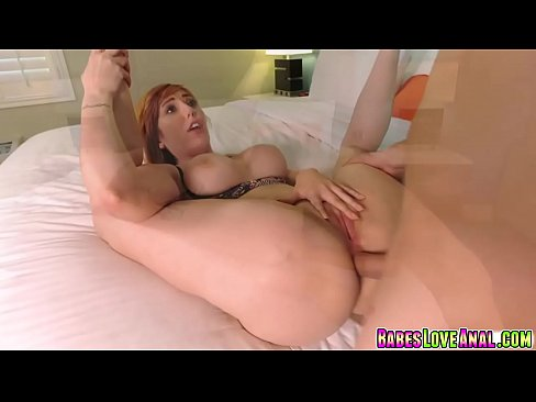 Screwing Lauren Phillips stretched asshole so deep