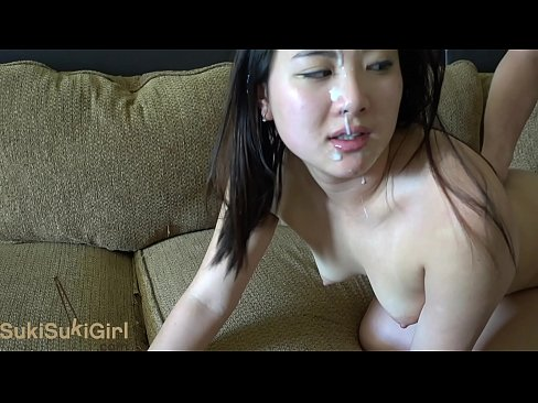 facial and loud moaning for a huge cumshot for girlfriend @sukisukigirlreal