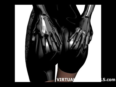 3d Sci Fi Hentai Babe In A Skin Tight Catsuit