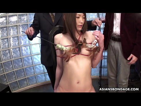 Clip sex Rina Serizawa got tied up for a group of excited guys