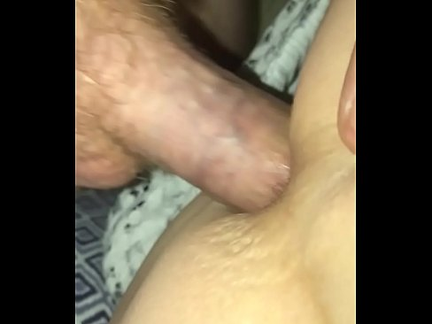 Female using anal beeds